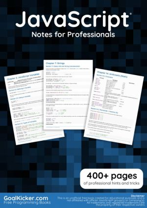 JavaScript Notes for Professionals