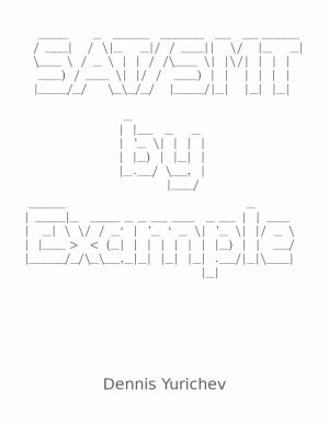 SAT/SMT by Example