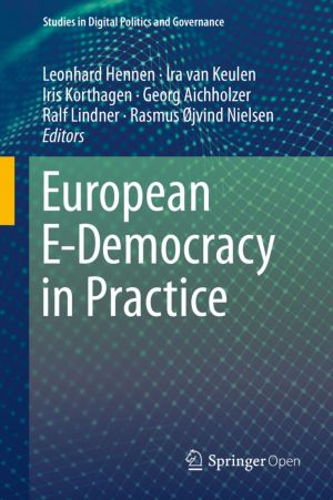 European E-Democracy in Practice