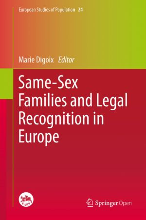 Same-Sex Families and Legal Recognition in Europe