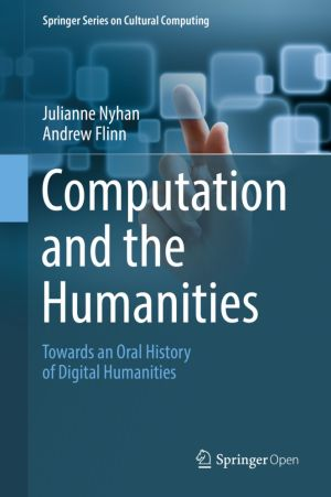 Computation and the Humanities