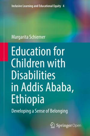 Education for Children with Disabilities in Addis Ababa, Ethiopia