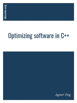 Optimizing software in C++